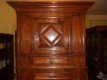 Antique Louis XIII Buffet Sideboard in walnut - 17th century-2