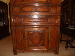 Antique Louis XIII Buffet Sideboard in walnut - 17th century-3