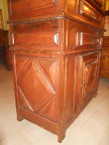 Antique Louis XIII Buffet Sideboard in walnut - 17th century-10