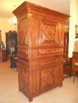 Antique Louis XIII Buffet Sideboard in walnut - 17th century-6