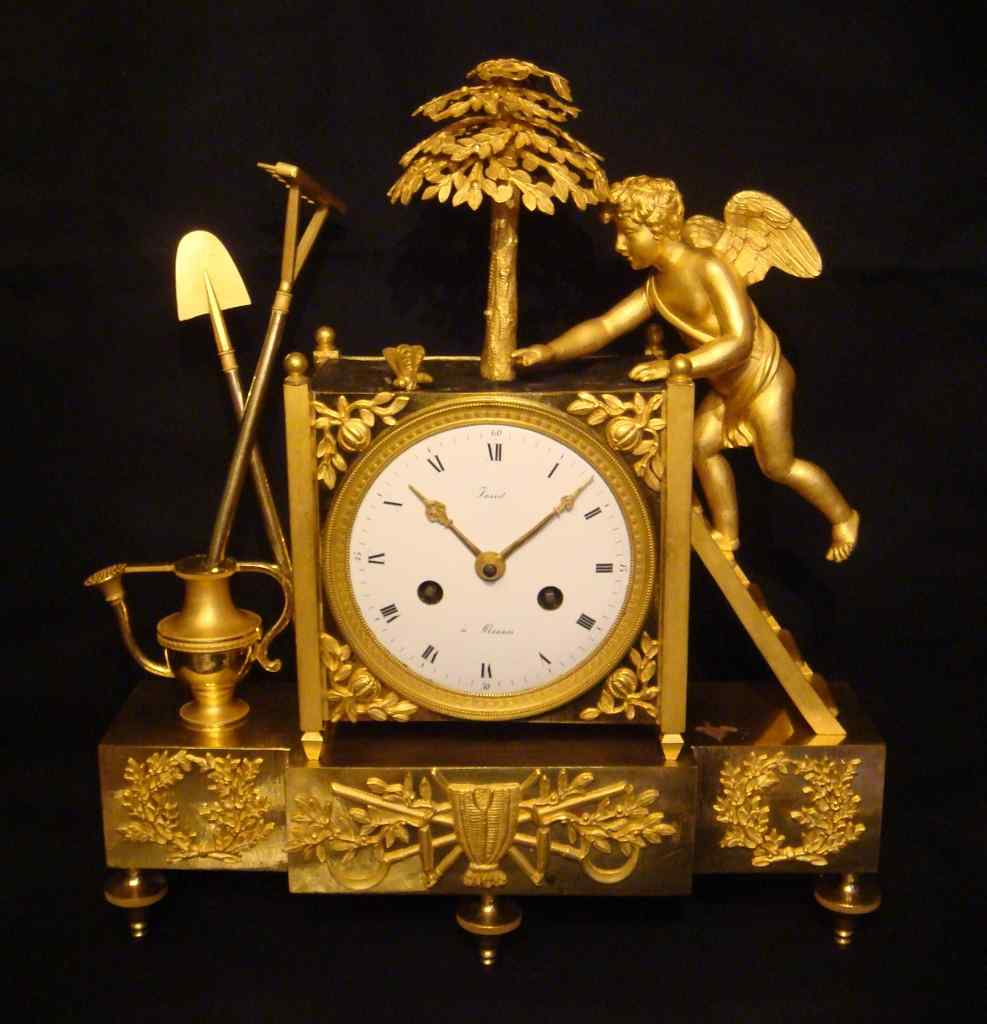 Empire Clock '' The Love Gardener ''