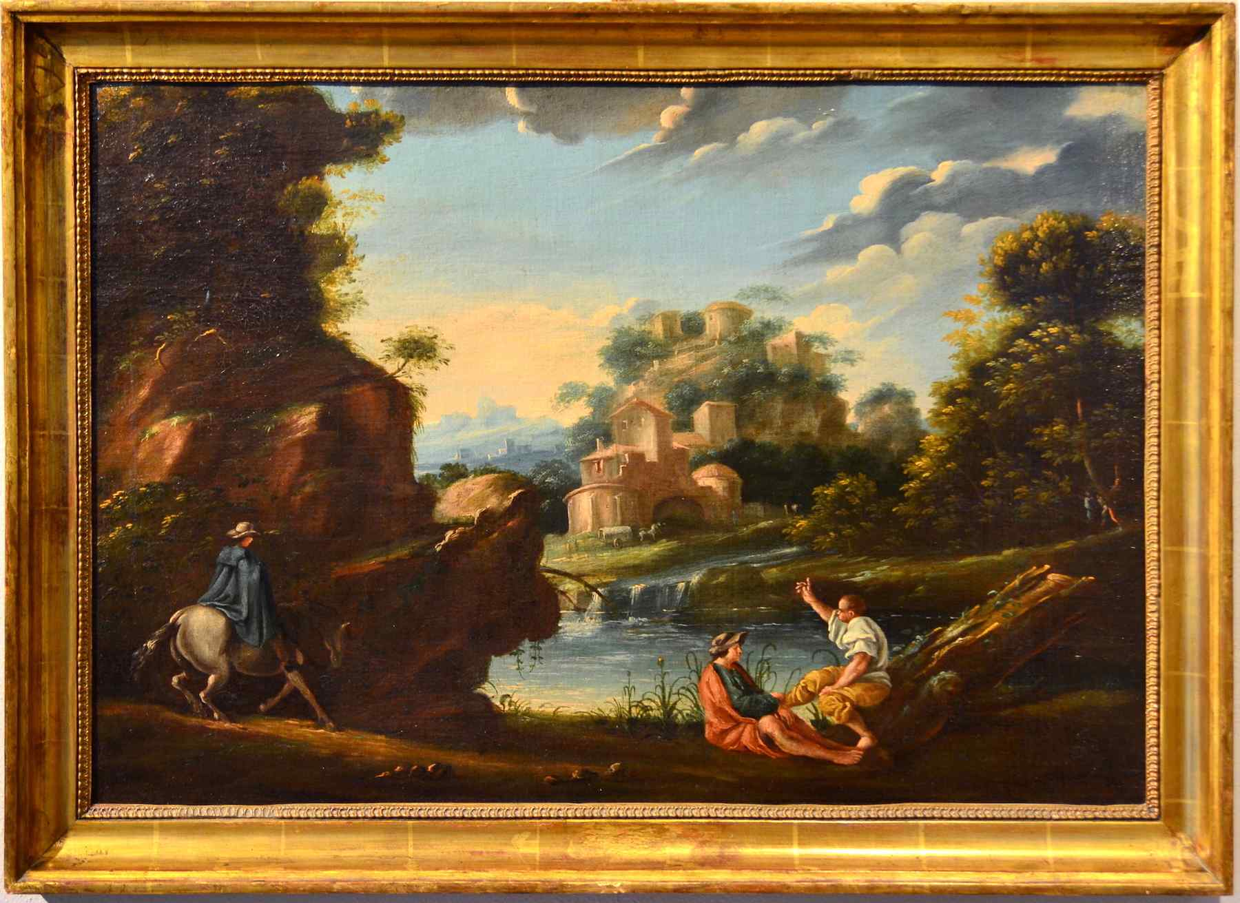 Jan Frans van Bloemen (1749 1662) atelier - Paysage