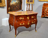 Extraordinary chest of drawers Louis XV, Rome, half-eighteen-2