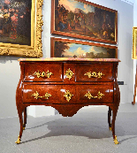 Extraordinary chest of drawers Louis XV, Rome, half-eighteen-0
