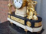 Ancien Horloge Pendule Louis XVI en bronze - 18ème siècle-15