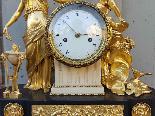 Ancien Horloge Pendule Louis XVI en bronze - 18ème siècle-16