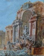Circolo di JB LALLEMAND (1716-1803), Vedute architettoniche-3