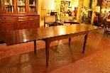Table à 19 Rallonge Pied Louis XVI ème-1