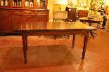 Table à 19 Rallonge Pied Louis XVI ème-2