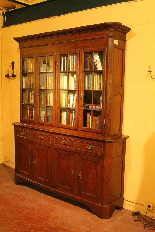 oak french library 19 century-3