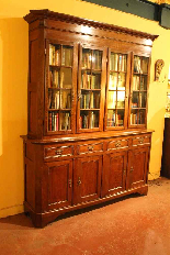 oak french library 19 century-1