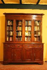 Biblioteca francese del XIX secolo-0
