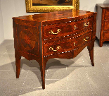 Belle commode Louis XV XVIII siècle, Naples-7