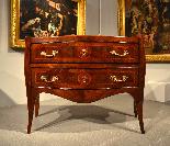 Belle commode Louis XV XVIII siècle, Naples-5