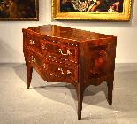 Belle commode Louis XV XVIII siècle, Naples-1
