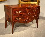 Belle commode Louis XV XVIII siècle, Naples-6