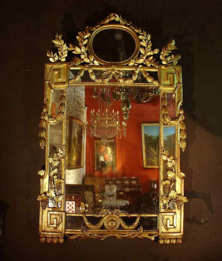 Specchio provenzale del XVIII secolo