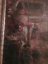 Quadro Sc. 600 семнадцатого века фламандского «Власть и церковь»-1