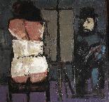Либератор Фаусто Maria (Lucca 1922 -2004) Художник и модель-2