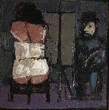 Либератор Фаусто Maria (Lucca 1922 -2004) Художник и модель-1