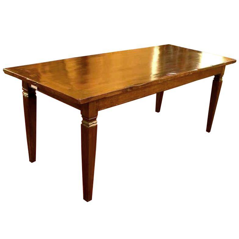 French table 19 th century square feet