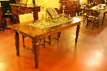 French table 19 th century square feet-0