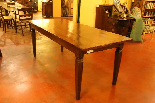 French table 19 th century square feet-2