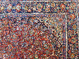 Tres Grand Tapis Kachan - Iran Vers 1930 - Grande Dimension-5