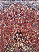 Tres Grand Tapis Kachan - Iran Vers 1930 - Grande Dimension-2