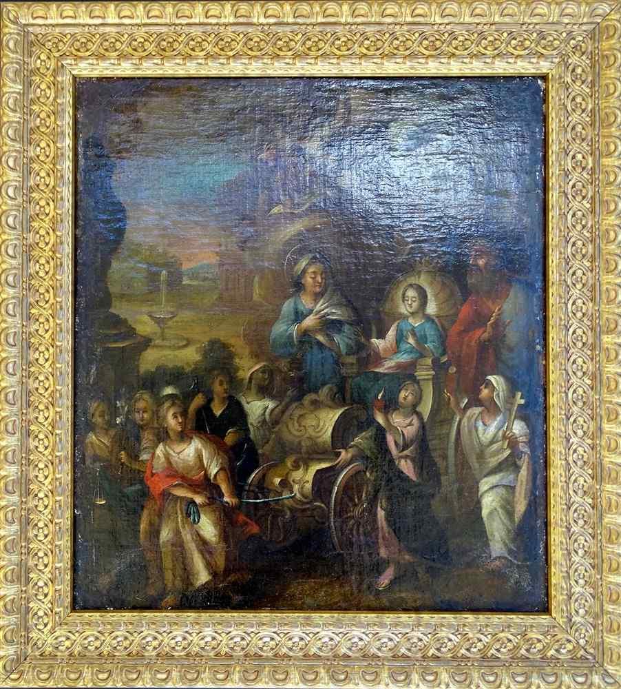 Scuola tedesca 17 manierista Hans von Aachen