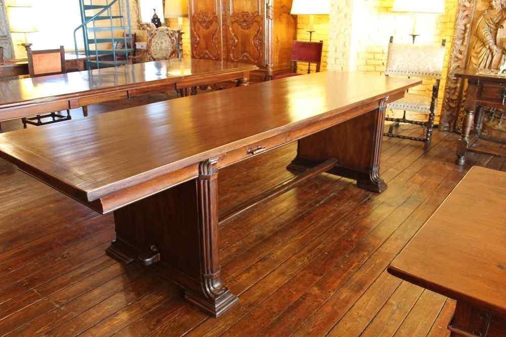 art deco refectory table