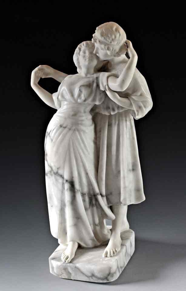 Guglielmo Pugi (1850-1915) scultura in marmo