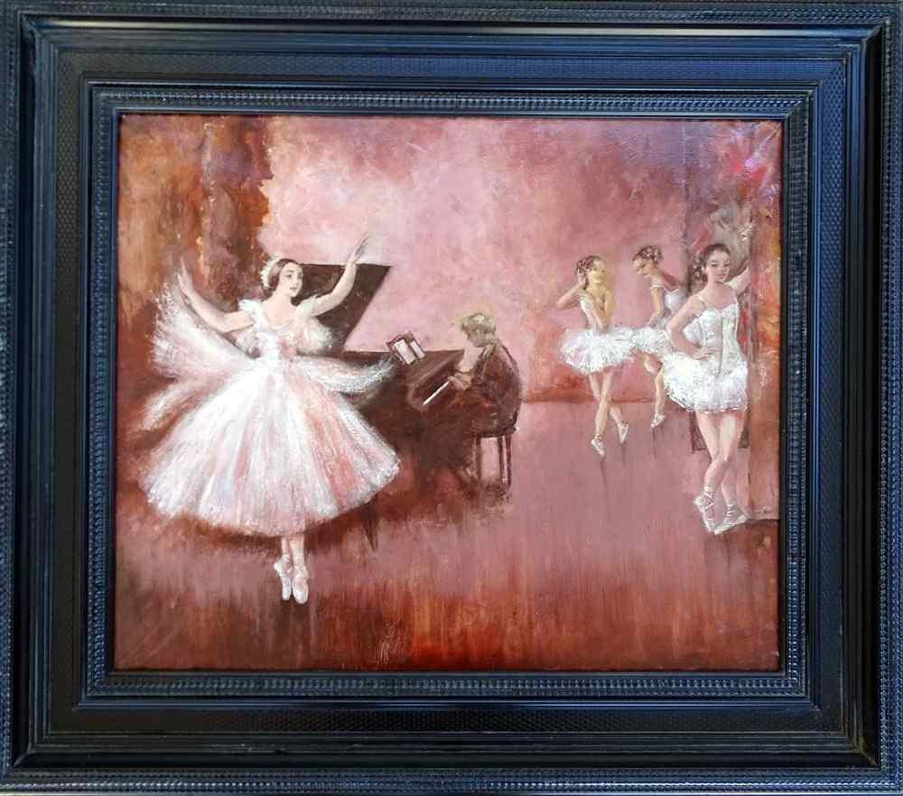 Балетная школа Французский девятнадцатый