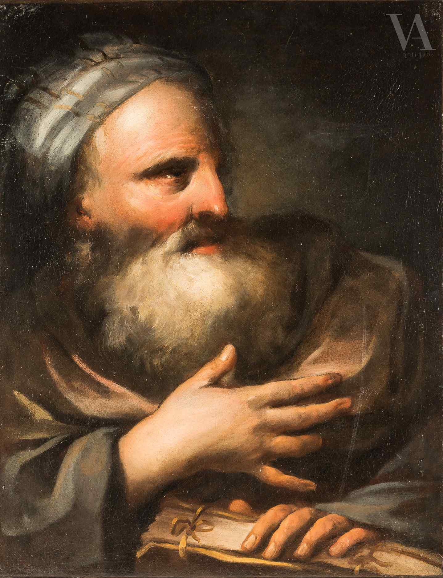 Maestro bolognese, Profeta. XVIII sec.