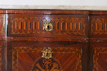Античный французский Людовик XVI грудь-1
