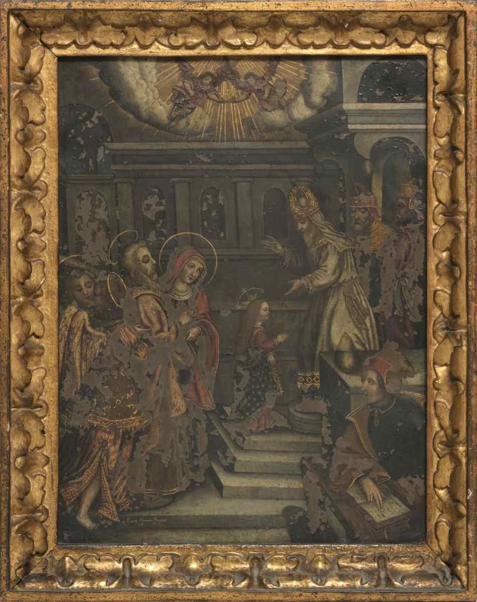 Quadro Sc. 600 du européenne « Présentation Enfant Jésus »
