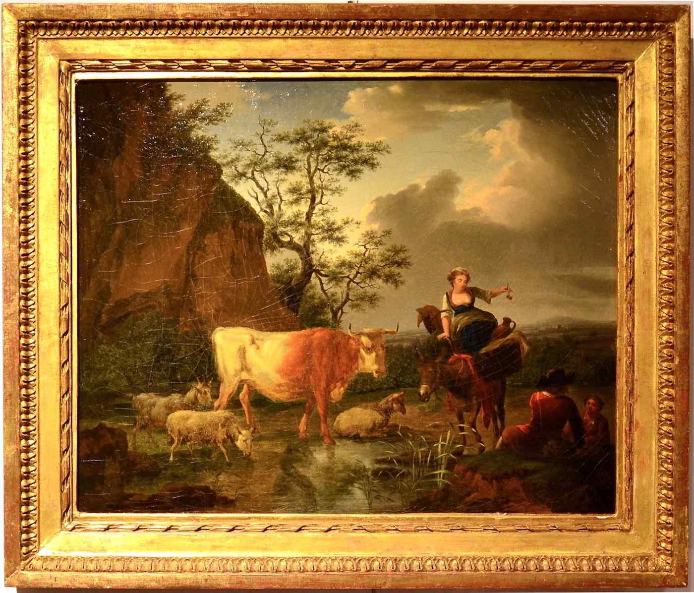 Karel Dujardin (1626 - 1678), Il riposo dei pastori