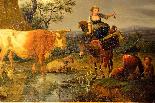 Karel Dujardin (1626 - 1678), le reste des bergers-6