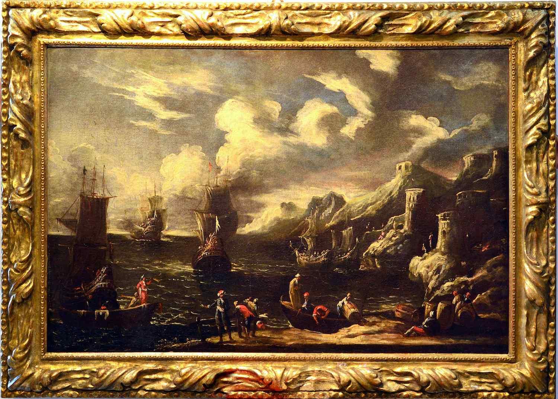 Фламандский мастер семнадцатого века, прибрежный вид