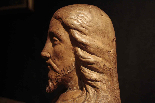 Busto di Crsto in terracotta-6