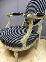 Пара Кресла Louis XVI Style-4
