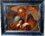 Saint Barthelemy & Saint Simon Paire d'Ecoles Italiennes 17è-8