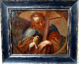 Saint Barthelemy & Saint Simon Pair of Italian Schools 17th-8
