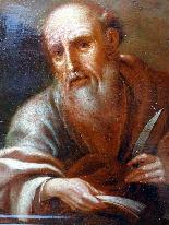 Saint Barthelemy & Saint Simon Paire d'Ecoles Italiennes 17è-1
