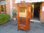 Antica Vetrina Cristalliera in noce - Italia  XIX secolo-1