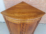 Antique Louis Philippe Corner Cabinet in walnut - 19th cent.-4