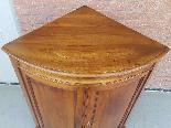 Antique Louis Philippe Corner Cabinet in walnut - 19th cent.-4