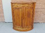 Antique Louis Philippe Corner Cabinet in walnut - 19th cent.-1