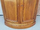 Antique Louis Philippe Corner Cabinet in walnut - 19th cent.-12
