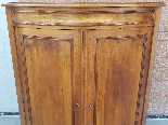 Antique Louis Philippe Corner Cabinet in walnut - 19th cent.-11